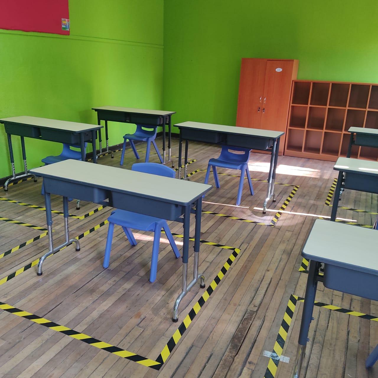 Escuelas rurales y 4° medios técnicos del liceo Manuel de Salas retoman clases presenciales